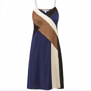 Diane von Furstenberg Frederica Colorblock Dress